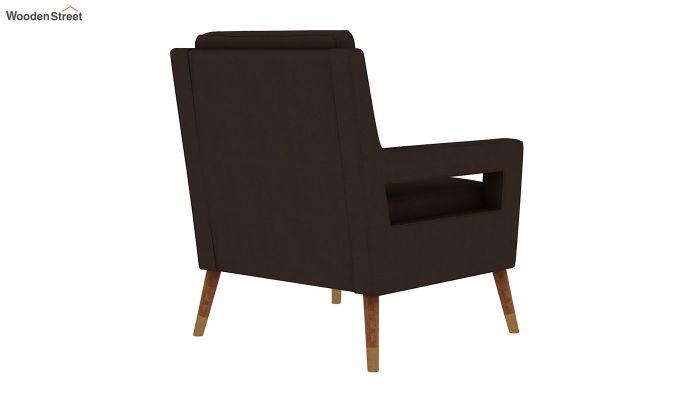 Boris Lounge Chair (Fabric, Classic Brown)-4