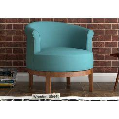 Clover Lounge Chair (Aqua Marine)
