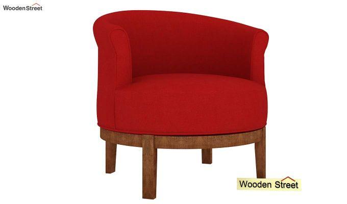 Clover Lounge Chair (Dusky Rose)-2