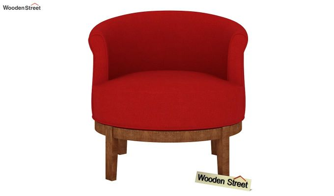 Clover Lounge Chair (Dusky Rose)-3