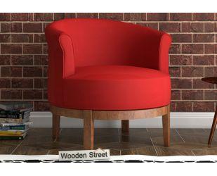 Clover Lounge Chair (Dusky Rose)