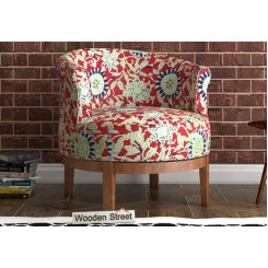 Clover Lounge Chair (Scarlet Blue)
