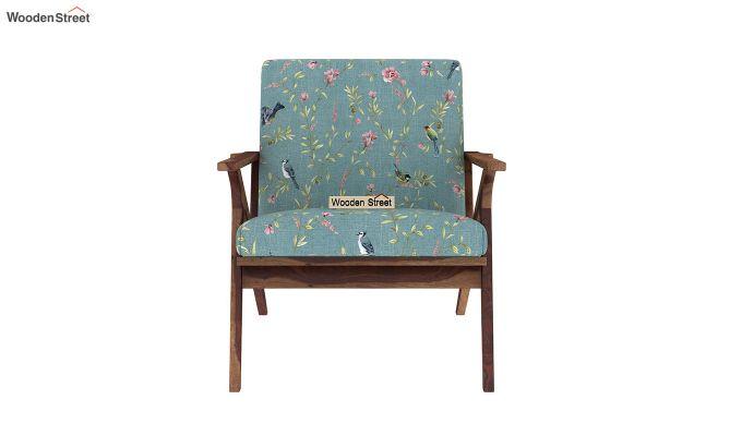 Crisper Arm Chair (Linen, Bubble Robins)-3