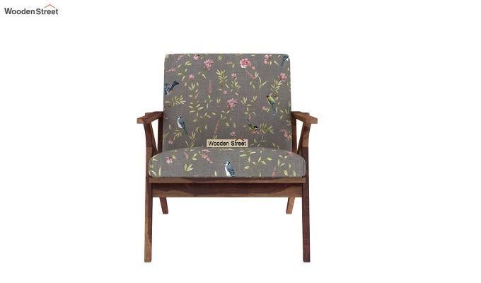 Crisper Arm Chair (Linen, Grey Robins)-3