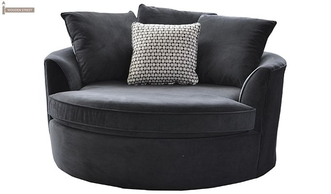 Eddie Lounge Chair (Grey)-1