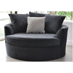 Eddie Lounge Chair (Grey)