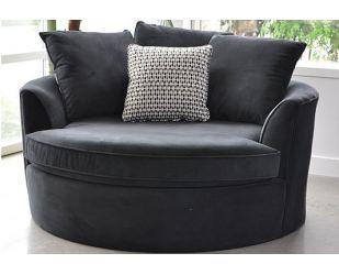 Eddie Lounge Chair (Grey)