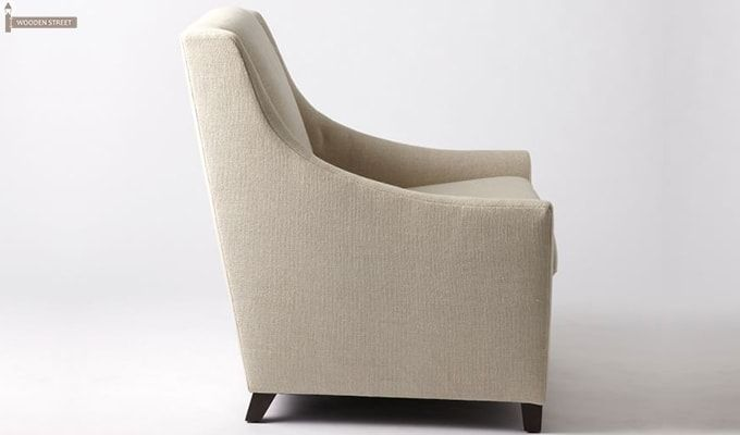 Fred Wingback Chair (Ivory)-3