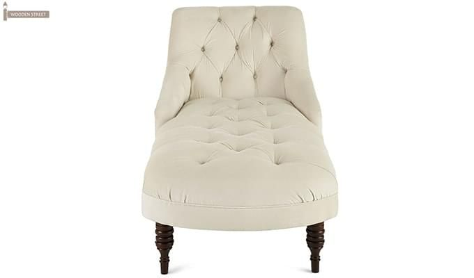 Buy Keaton Chaise Lounge Cream Online In India Wooden