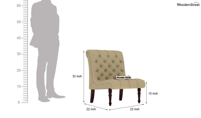 Kraft Lounge Chair (Irish Cream)-4