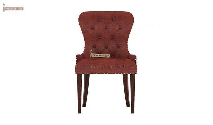 Lenox Dining Chair (Leatherette, Burnt Umber)-2