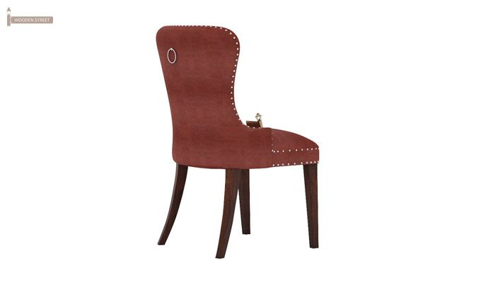 Lenox Dining Chair (Leatherette, Burnt Umber)-3