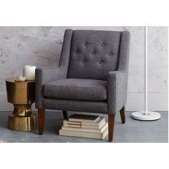 Nancy Wingback Chair (Grey)