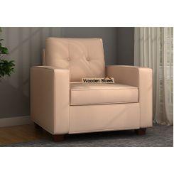 Nicolas 1 Seater Sofa (Irish Cream)