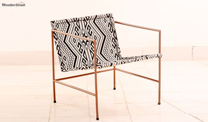 Paris Jacquard Lounge Chair-2