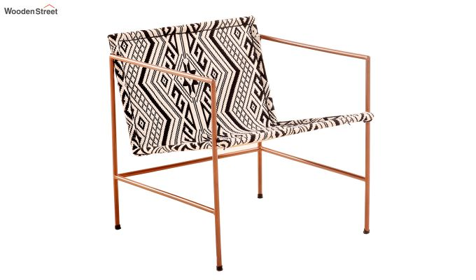 Paris Jacquard Lounge Chair-4