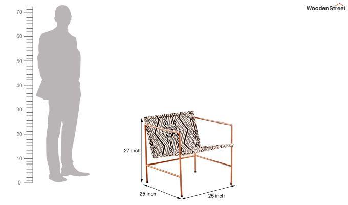 Paris Jacquard Lounge Chair-5