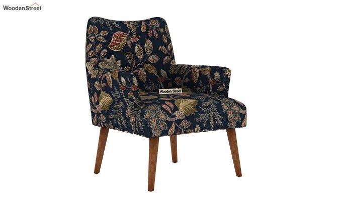 Pesto Lounge Chair (Cotton, Dusky Leaf)-2