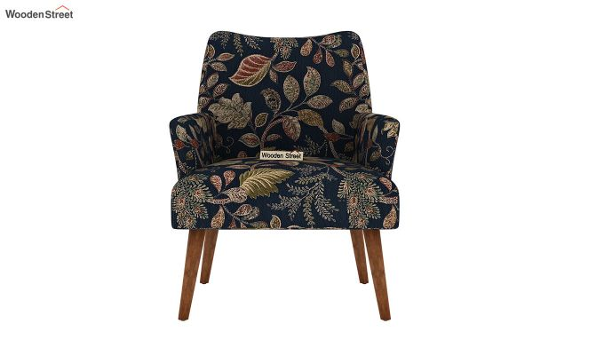 Pesto Lounge Chair (Cotton, Dusky Leaf)-3