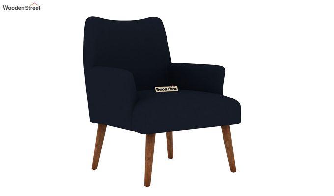 Pesto Lounge Chair (Cotton, Indigo Ink)-2