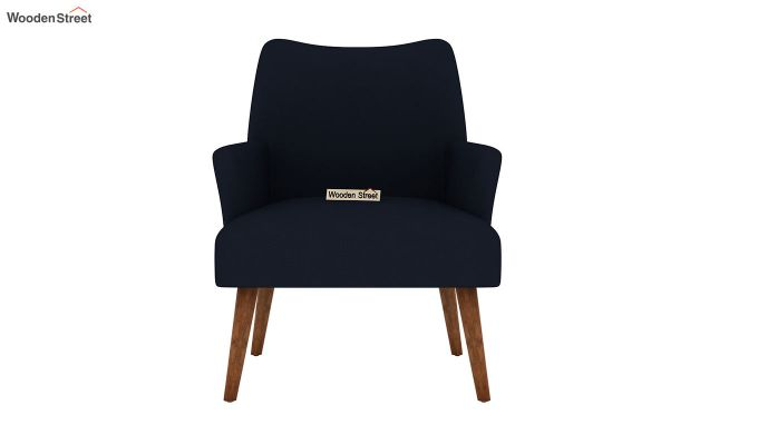 Pesto Lounge Chair (Cotton, Indigo Ink)-3