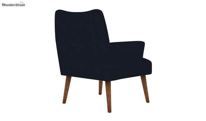 Pesto Lounge Chair (Cotton, Indigo Ink)-4