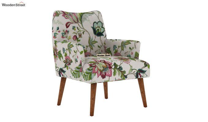 Pesto Lounge Chair (Cotton, Rose Vineyard)-2