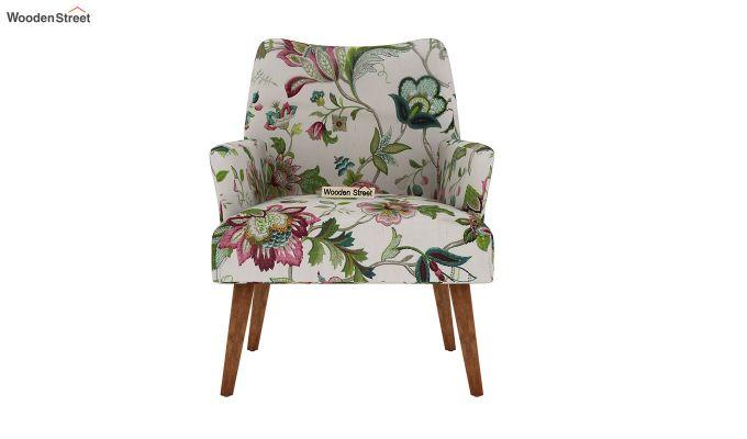 Pesto Lounge Chair (Cotton, Rose Vineyard)-3