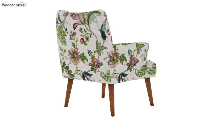 Pesto Lounge Chair (Cotton, Rose Vineyard)-4