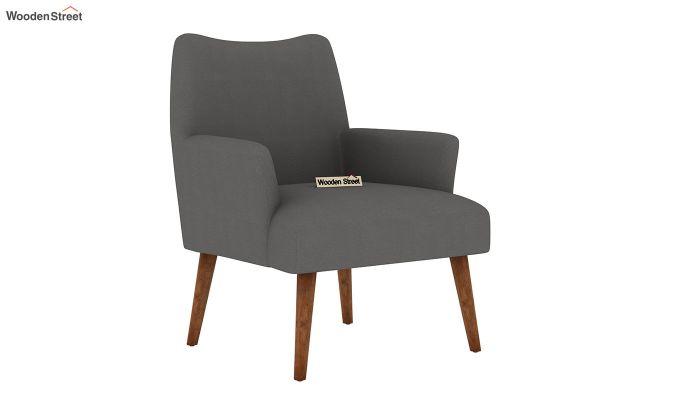 Pesto Lounge Chair (Cotton, Warm Grey)-2