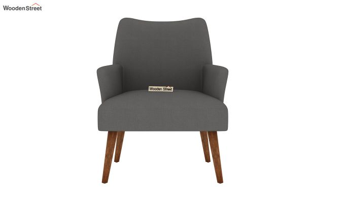 Pesto Lounge Chair (Cotton, Warm Grey)-3