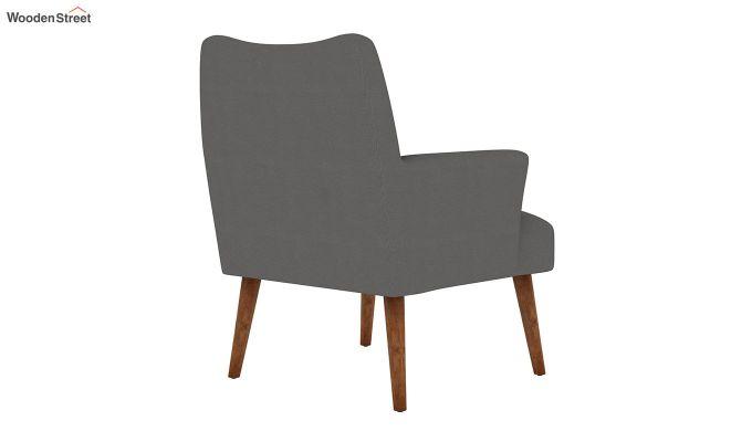 Pesto Lounge Chair (Cotton, Warm Grey)-4