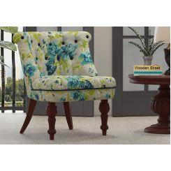 Ryan Lounge Chair (Teal Tulip)