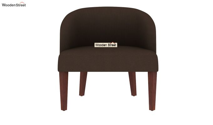 Trove Lounge Chair (Cotton, Classic Brown)-3