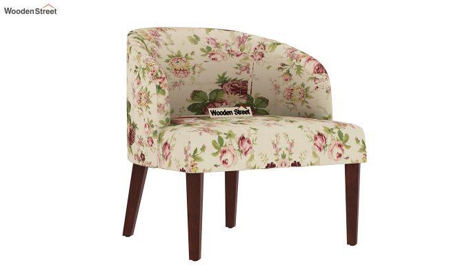 Trove Lounge Chair (Cotton, Cream Blossom)-2