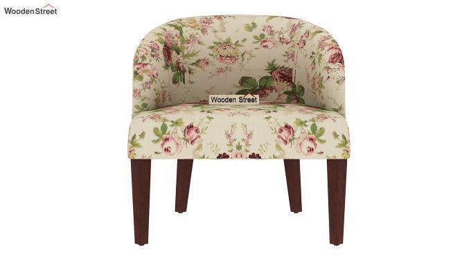 Trove Lounge Chair (Cotton, Cream Blossom)-3