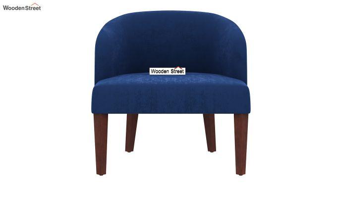 Trove Lounge Chair (Velvet, Indigo Blue)-3