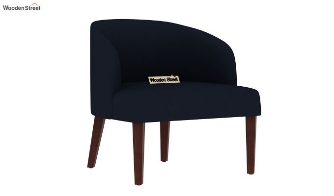 Trove Lounge Chair (Cotton, Indigo Ink)-2