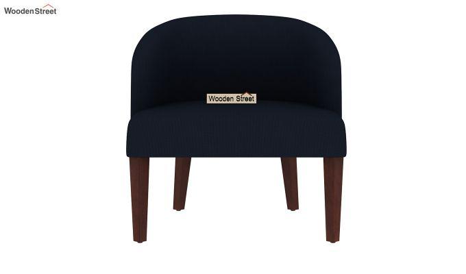 Trove Lounge Chair (Cotton, Indigo Ink)-3