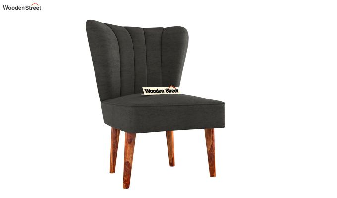 Wafer Lounge Chair (Graphite Grey)-2
