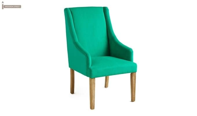 Wohin Wingback Chair (Green)-1