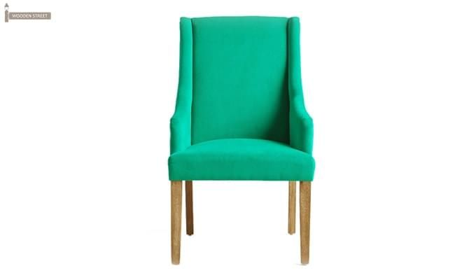 Wohin Wingback Chair (Green)-4