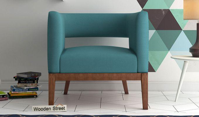 Wolper Lounge Chair (Aqua Marine)-1