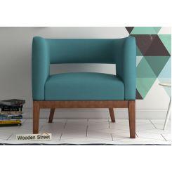 Wolper Lounge Chair (Aqua Marine)