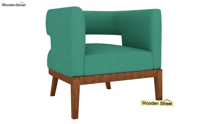 Wolper Lounge Chair (Electric Turquoise)-2