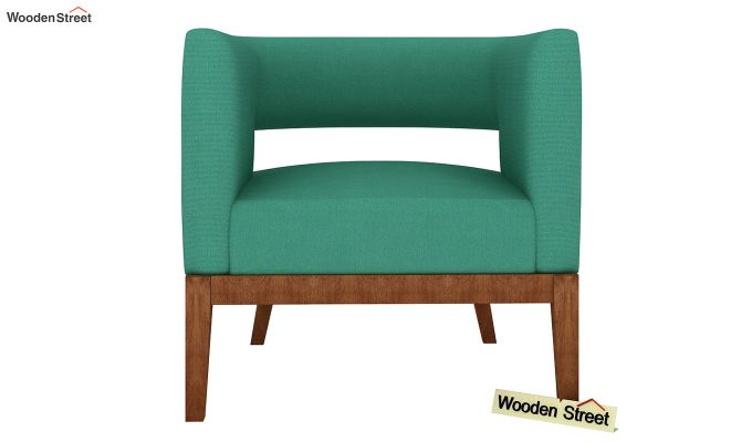 Wolper Lounge Chair (Electric Turquoise)-3