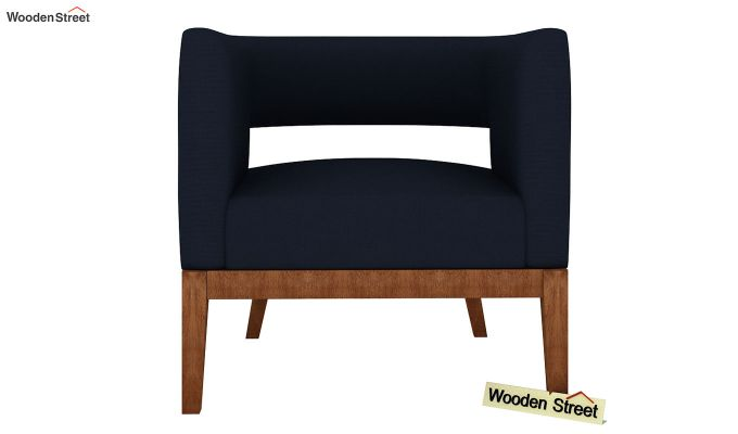Buy Wolper Lounge Chair Indigo Ink Online In India