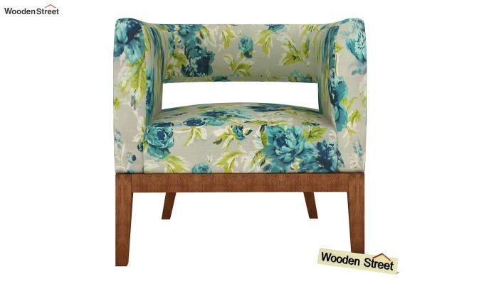 Wolper Lounge Chair (Teal Tulip)-3