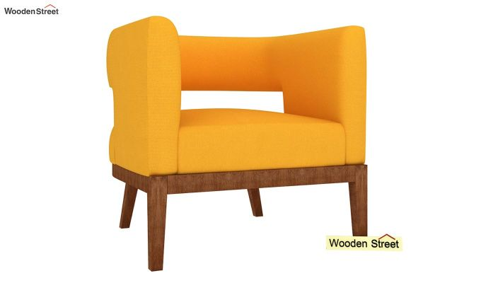 Wolper Lounge Chair (Yellow Blush)-2