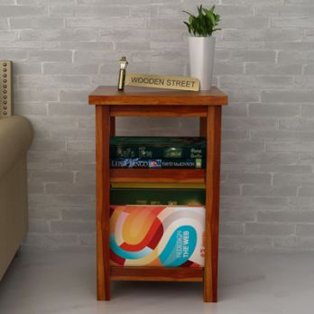 Shop Slid Wood Magazine Rack Online in Pune, Bangalore, India